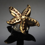 Bronze Starfish Ring – BRS1019-R