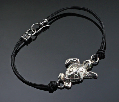 Leather Loggerhead Bracelet – BS1014