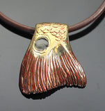 Bronze Redfish Tail Pendant-BRF1001