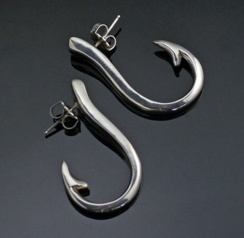 Lg. Hook Earrings-E1018