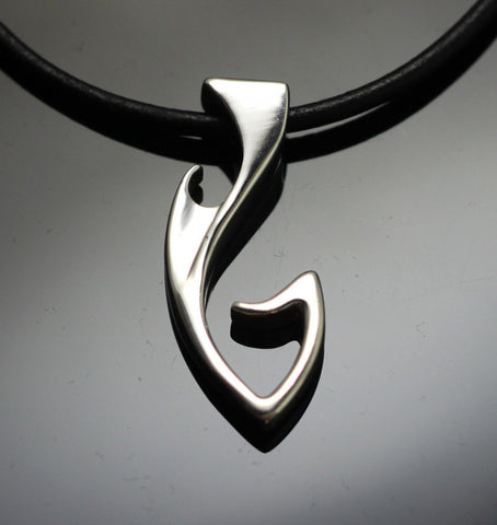 Fish Hook Pendant-P1049