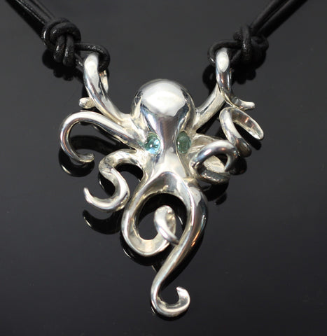 Octopus Necklace-S1002-N