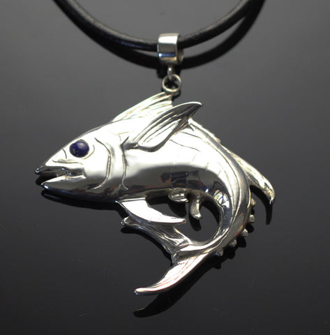 Yellowfin Tuna Pendant-F1020