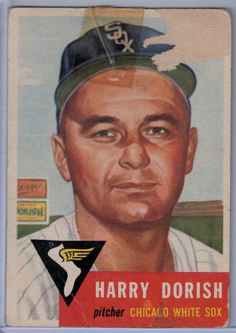 1953 Topps #145 Harry Dorish D $2.00