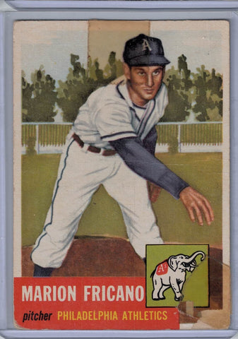 1953 Topps #199 Marion Fricano B $4.00