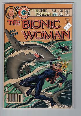 Bionic Woman Issue # 2 Charlton Comics $32.00