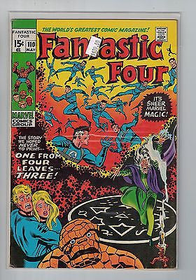 Fantastic Four Issue # 110 Marvel Comics $39.00