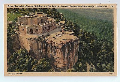 Ochs Memorial Museum, Chattanooga, Tennessee Vintage Postcard $10.00
