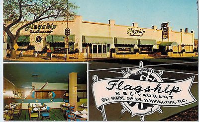 Vintage Postcard of The Flagship Restaurant Washington, D.C. $10.00