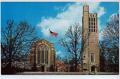 Vintage Postcard of Wahington Memorial Chapel and Valley Forge Memorial Bell, PA $10.00