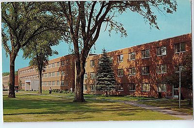 Vintage Postcard of Stout State College Dormitory for Women, Menomonie, WI $10.00