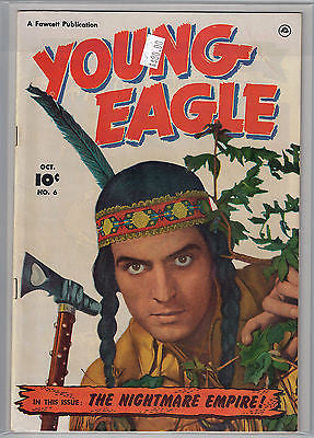 Young Eagle Issue # 6 (Oct 1951) Fawcett $80.00