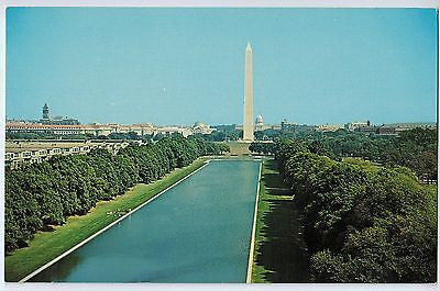 Vintage Postcard of A View of Washington Mounument Washington D.C. $10.00