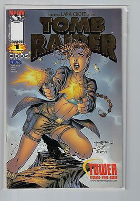 Tomb Raider #1 Tower Giveaway Gold Foil Edition Top Cow/Image Comics $15.00