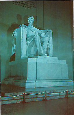 Vintage Postcard of The Lincoln Statue in the Lincoln Memorial $10.00