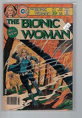 Bionic Woman Issue # 3 Charlton Comics $32.00