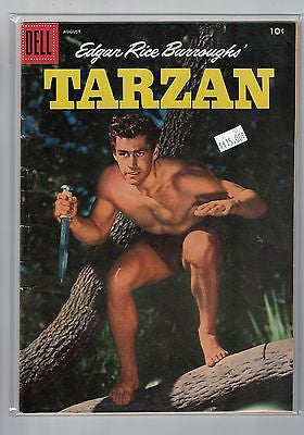 Edgar Rice Burroughs' Tarzan Issue # 83 Dell Comics $15.00