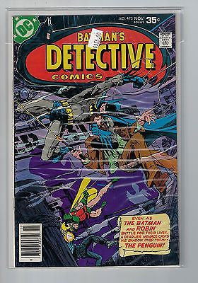 Detective (Batman) Issue # 473 DC Comics  $55.00