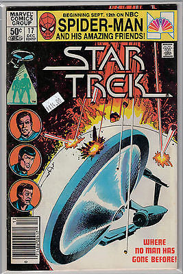 Star Trek Issue #  17 (Dec 1981) Marvel Comics $14.00