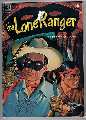 Lone Ranger Issue # 37 (Jul 1951) Dell Comics $45.00