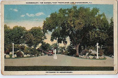 Vintage Postcard of Mooseheart, The School That Trains For Life, Moosehart, IL $10.00