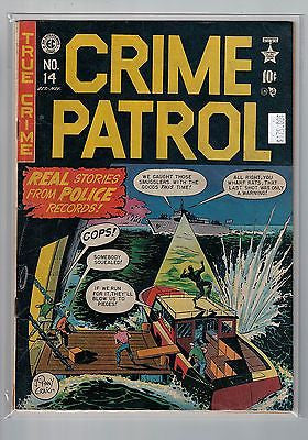 Crime Patrol Issue # 14 Entertaining Comics $175.00