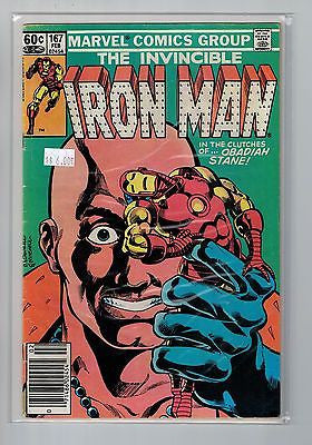 Iron Man Issue # 167 Marvel Comics $6.00