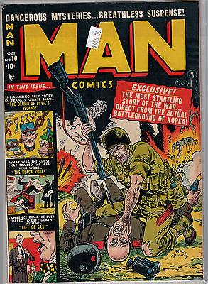 Man Comics Issue # 10 (Oct 1951) Marvel $56.00