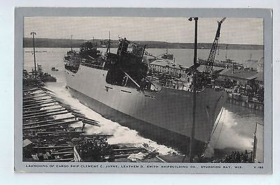 Cargo Ship Smith Shipbuilding Co. Sturgeon Bay, Wisconsin Vintage Postcard $10.00
