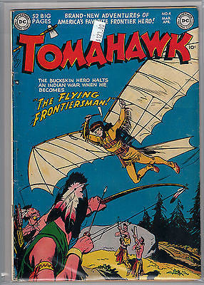 Tomahawk Issue #  4 (Mar-Apr 1951) DC Comics $123.00