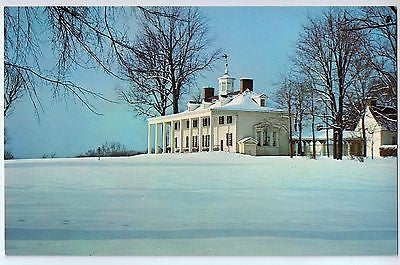 Vintage Postcard of Mount Vernon, East Front Virginia $10.00