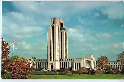 Vintage Postcard of The National Naval Medical Center in Bethesda, Maryland $10.00