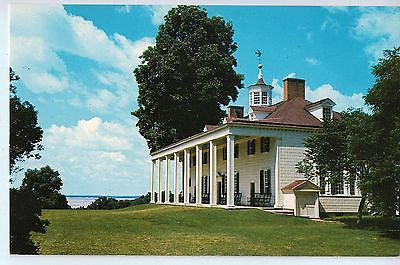 Vintage Postcard of the East Front of Mount Vernon, Virginia $10.00