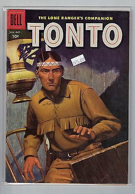 Lone Ranger's Companion Tonto Issue # 24 Dell Comics $15.00