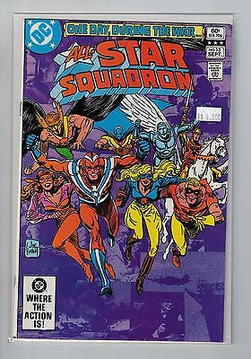 All-Star Squadron Issue #13 DC Comics $4.00
