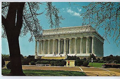 Vintage Postcard of The Lincoln Memorial, Washington D.C. $10.00
