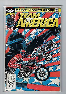 Team America Issue # 1 Marvel Comics  $5.00