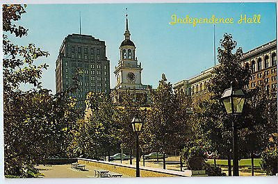 Vintage Postcard of Independence Hall in Philadelphia, Pa $10.00