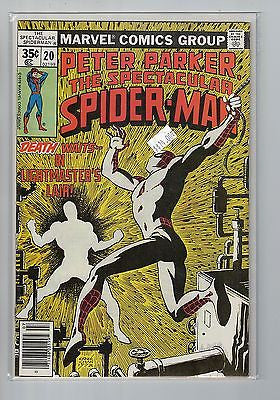 Spectacular Spider-Man Issue #  20 Marvel Comics $14.00