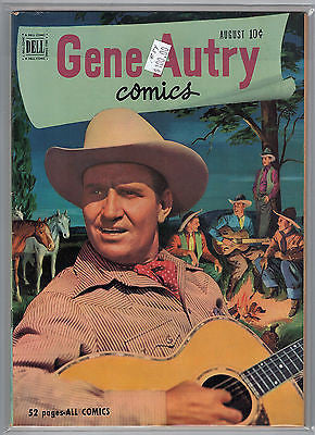 Gene Autry Comics Issue # 54 (Aug 1951) Dell Comics $100.00
