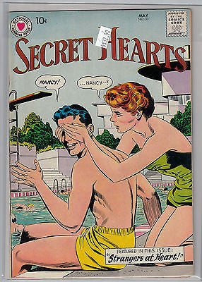 Secret Hearts Issue # 55 (May 1959) DC Comics $32.00