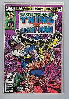 Marvel Two in One Issue # 55 Marvel Comics  $9.00