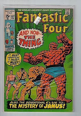 Fantastic Four Issue # 107 Marvel Comics $37.00