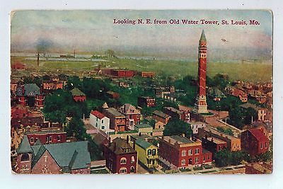 Looking N. E. from Old Water Tower, St. Louis, Missouri Vintage Postcard $10.00