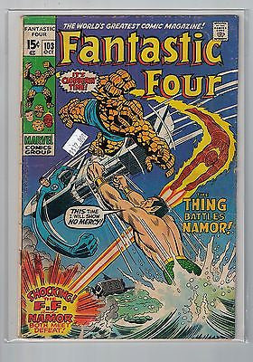 Fantastic Four Issue # 103 Marvel Comics $12.00