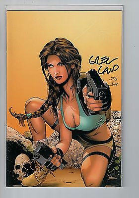 Tomb Raider #40 Virgin Variant Cover Signed by Greg Land #217/249 w/COA $60.00
