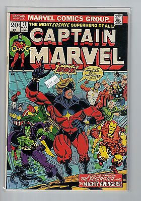 Captain Marvel Issue # 31 Marvel Comics $55.00