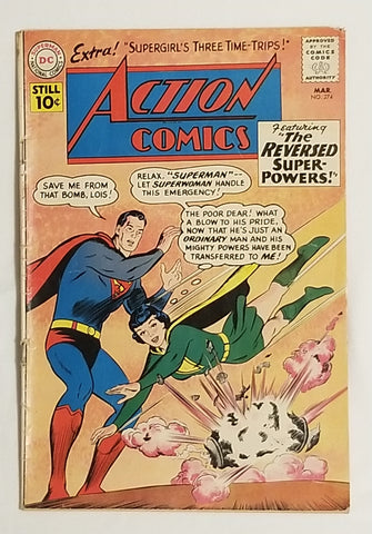 Action Comics issue # 274 DC Comics $52.00