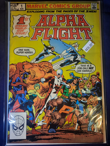 Alpha Flight # 1 Marvel Comics $16.00