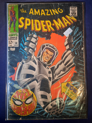 Amazing Spider-Man Issue #  58 Marvel Comics $12.00